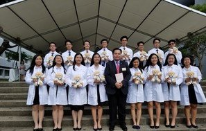 White Coat Inauguration Ceremony by CUHK