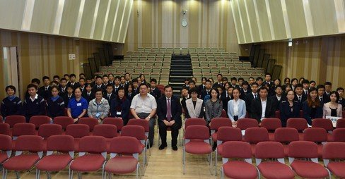 Visit by Guangzhou Fok Ying Tung High School - Photo - 3