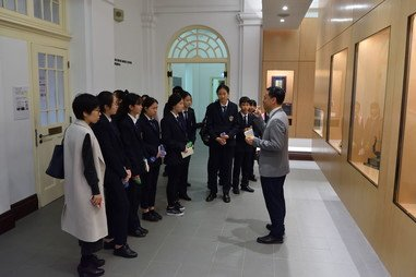 Visit by Guangzhou Fok Ying Tung High School - Photo - 4