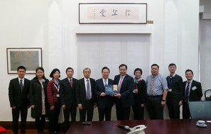 Visit by Liaison Office of the Central People's Government in the HKSAR