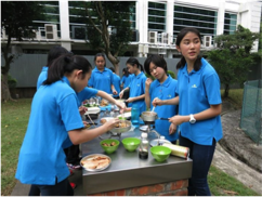 Girl Guides' Adventurous Camp ~ Able Wan