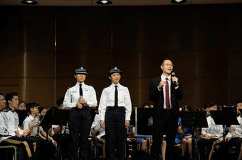 Presentation and Music Performance by Police Band - Photo - 3