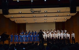 Performance by Senior Mixed-voice Choir
