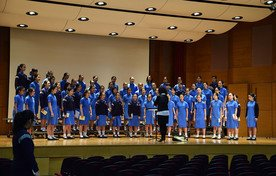 Performance by Treble Choir