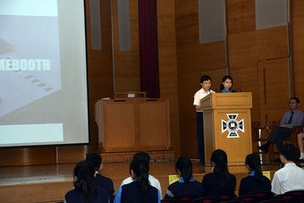 Talk on Moral Education & Presentation on STEM Week - Photo - 1