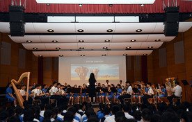 Performance by Wind Band