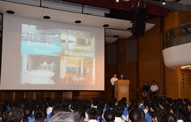 Presentation by Sports Department