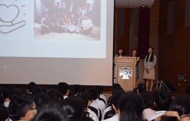 Sharing on Project on Rare Disease in Hong Kong by Ms. Dorothy Chan, Ms. Lorraine Chiang and Ms. Esther Tang (Alumni)