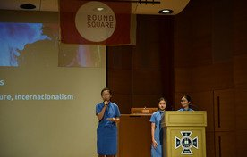 Presentation on Round Square