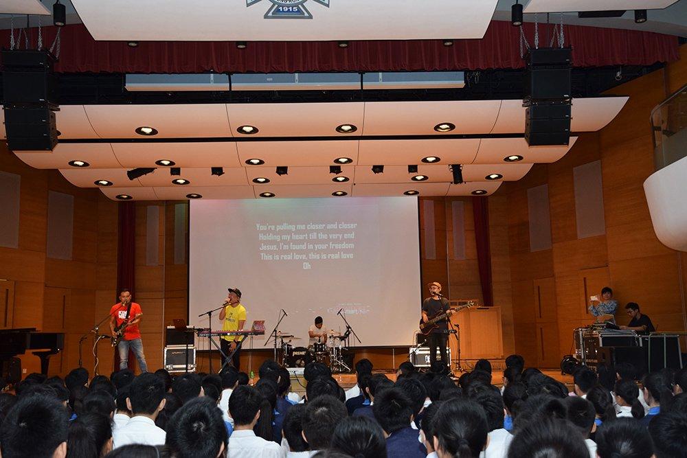 聖保羅男女中學音樂表演