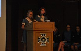 Presentations by Exchange Students from South Africa (HGS) and to and from France (LSV)